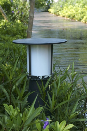 Garden light Stock Photo - 15309940