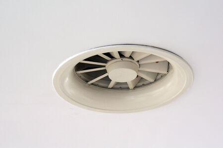 turbofan: Extintor Foto de archivo