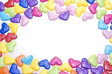 Love candy with love text