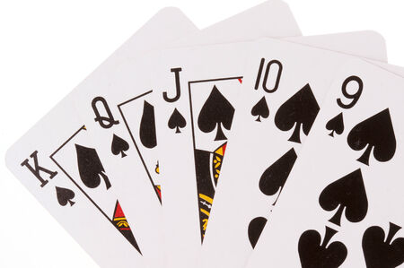 pokers: Flush of Spades
