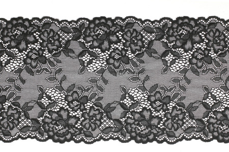 Black lace Stock Photo