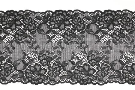 Black lace Foto de archivo