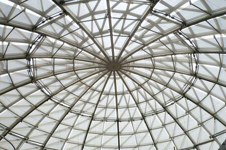 Glass ceiling for saving energy for lighting
