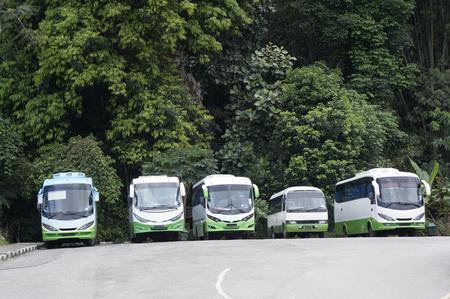 De tourbussen