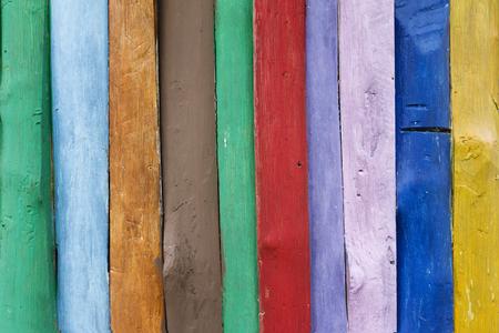 Kleurrijke houten achtergrond