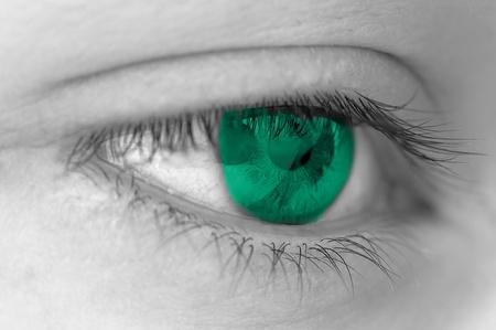 green eyes Imagens