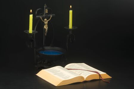 open bible Stock Photo - 10541827