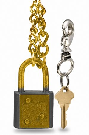 unleashed: lock and key chain