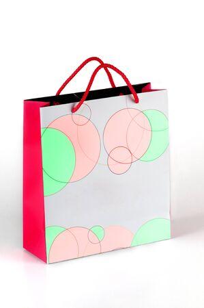 white bag, packing, storage photo