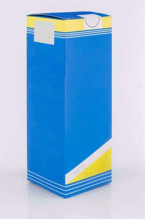 medical distribution: box on white background