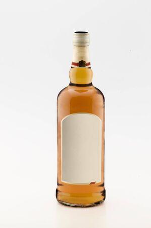 whiskey bottle Stock Photo