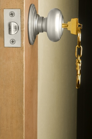 appears: locks, door key Stock Photo