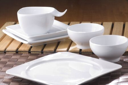 plate, plate, table