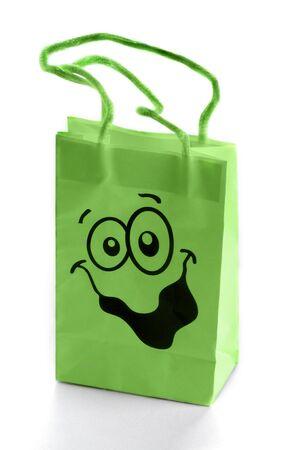 shopping bag isolated on white background Stock Photo - 10684359