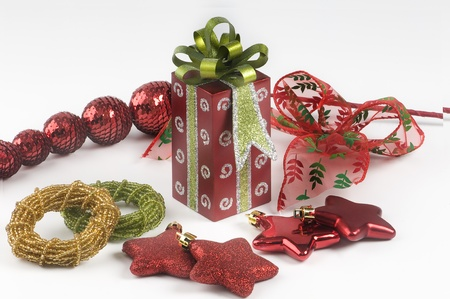 desires: christmas ornaments. Stock Photo