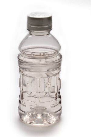 water bottle in white background photo