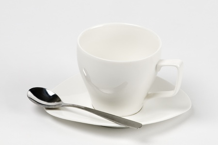 empty white mug Stock Photo - 10763631