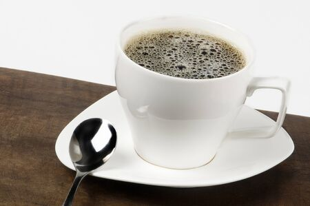 white coffee cup photo