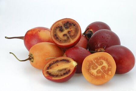 tomate de arbol: Tomate de �rbol Solanum betaceum, Tamarillo