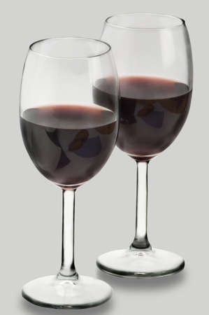 Two red wine Stock Photo - 12683829