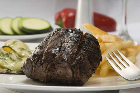 Grilled Steak Stock Photo - 12695598