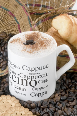 capuccino Stock Photo