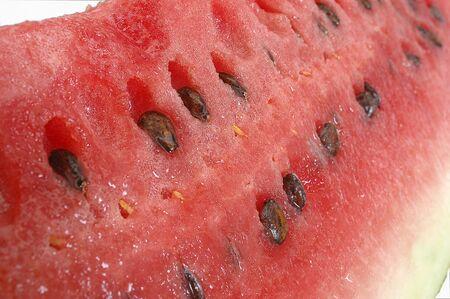 Watermelon fruit on white background Stock Photo