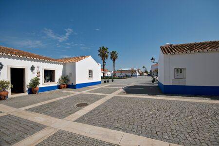 Porto Covo village in Alentejo, Portugal