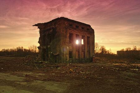 slut: destroyed building