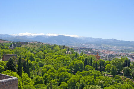 views of the Sierra Nevada resort spring photo