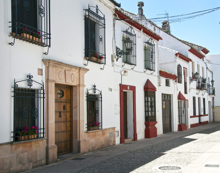 ronda: street in Ronda, Spain Editorial