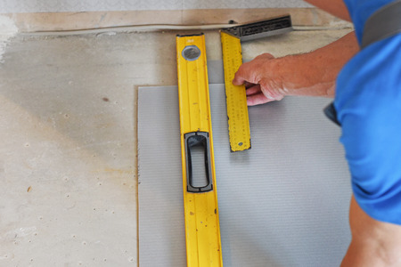 measured: hands of the carpenter line is measured