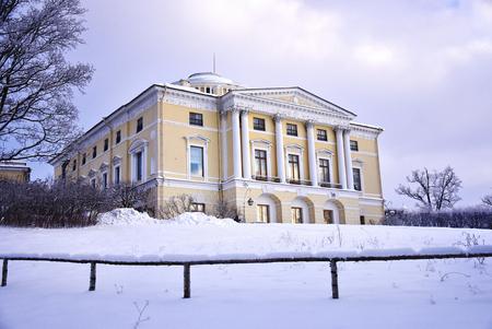 ass christmas: Pavlovsk Palace at winter holidays