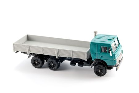 Collection scale model of the Onboard truck. The model is made of metal. For a basis of model the machine issued in the last century in Russia is taken. photo