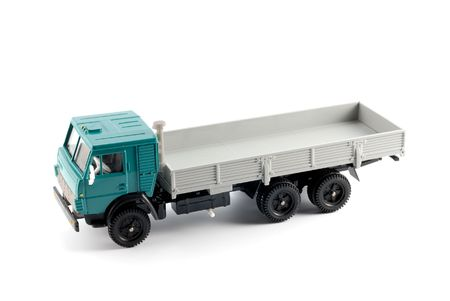 Collection scale model of the Onboard truck. The model is made of metal. For a basis of model the machine issued in the last century in Russia is taken.