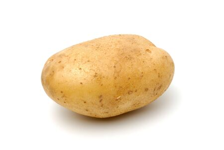 A baking potato, shot from the side. Stock Photo - 3204229