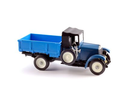 Collection scale model of the truck on a light background Stock Photo - 5269854