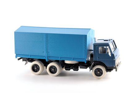 Collection scale model of the truck on a light background Stock Photo - 5344702
