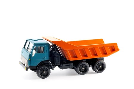 Collection scale model of the truck on a light background Stock Photo - 5371686