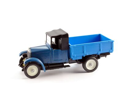 Collection scale model of the truck on a light background Stock Photo - 5456732