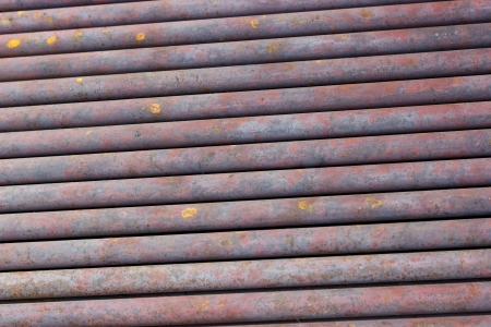 corrode: Backgrounds collection - Texture of scrap metal rusty water pipes