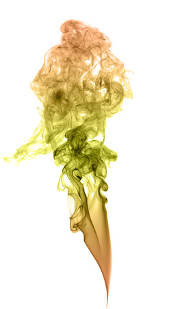 colored smoke: Abstract colored smoke on a light background Stock Photo