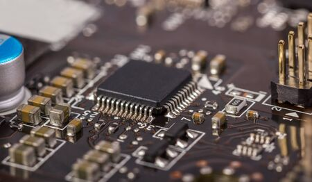 電子コレクション - ラジオ部品、コンピューター基板