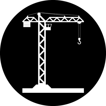 lifter: Building Tower crane icon