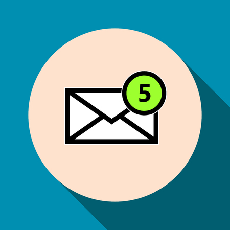 email icon: Email symbol letter icon