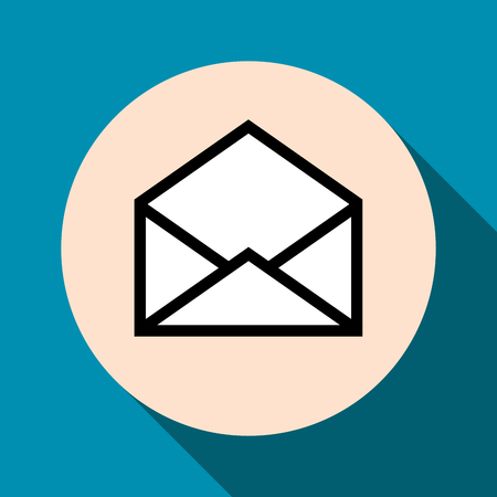 email symbol: Email symbol letter icon
