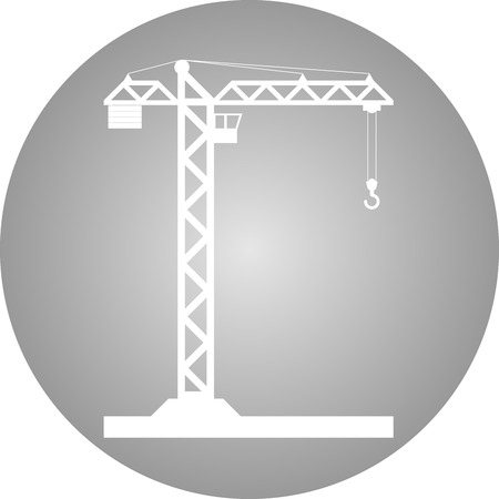 tower crane: Building Tower crane icon