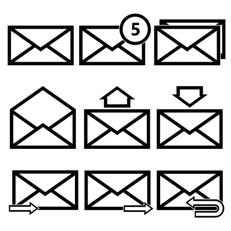 Email symbol letter icon