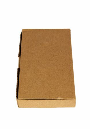 Cardboard box for postal parcel, gift wrapping, storage and moving of things at home, office, store and in the warehouse.