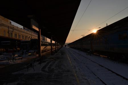 belgrade: Belgrade main train station